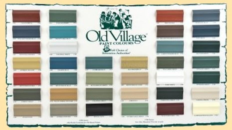 Federal Paint Colors