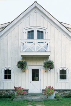 Barn Home White