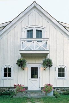 Barn Home White