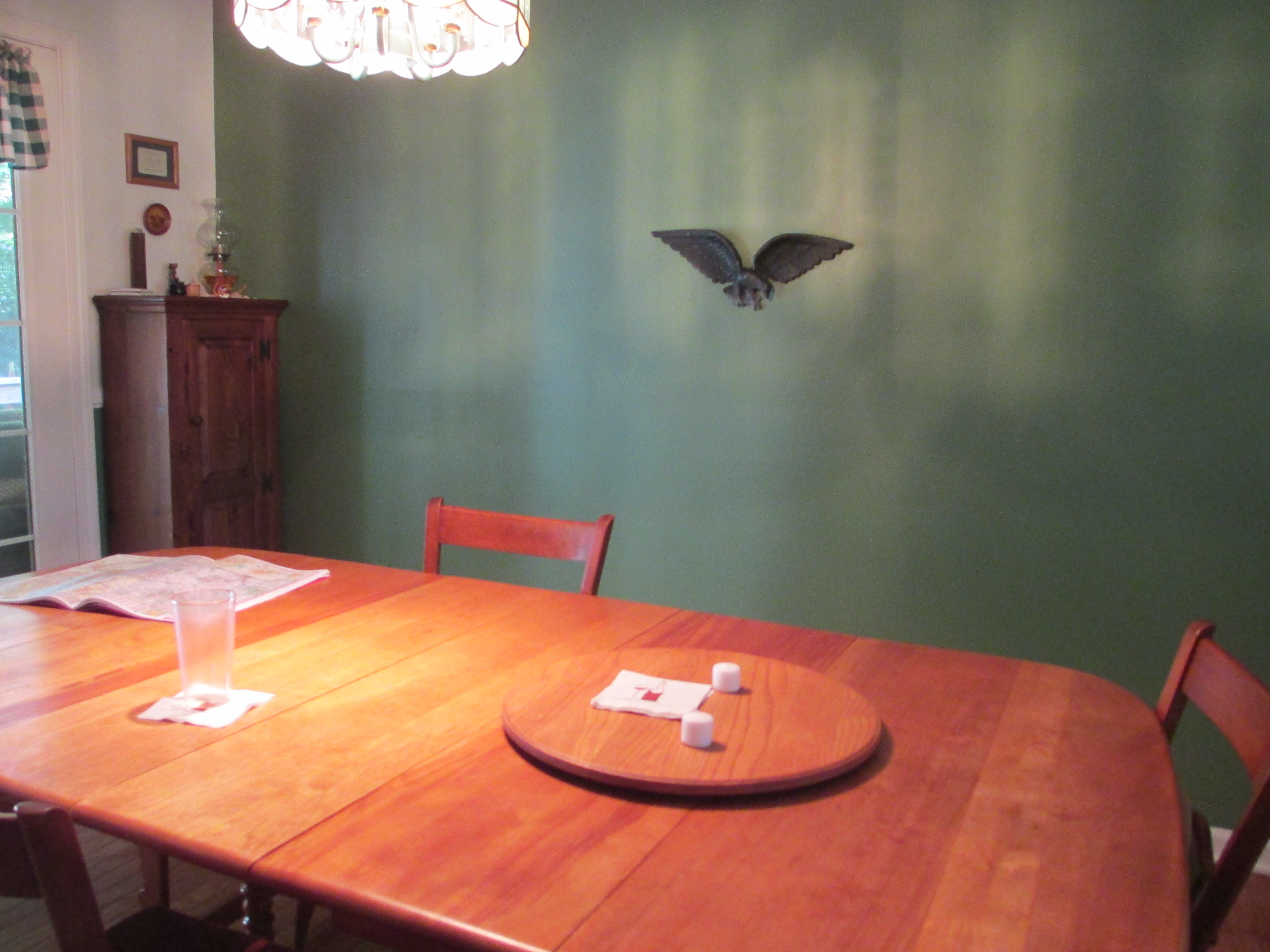Dining Room Painted Antique Sage Green
