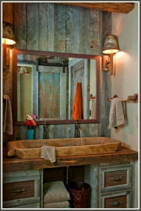 Primtive Bathroom
