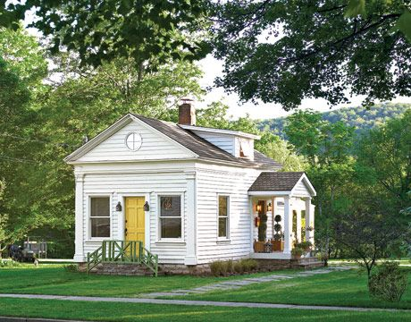 Schoolhouse Turned Home