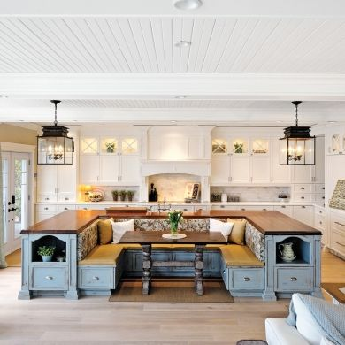 Built In Kitchen Island